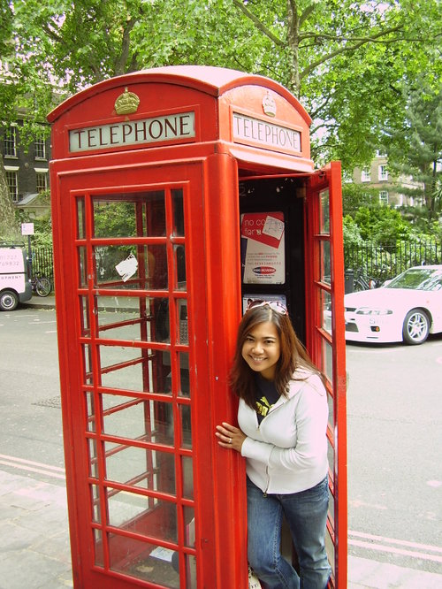 Famous English phonebooth
