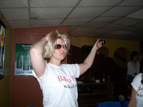 I am not a natural blonde.